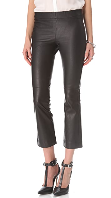 Elizabeth and James Allen Leather Pants