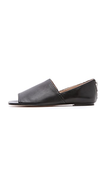 Elizabeth and James Pax Peep Toe Flats
