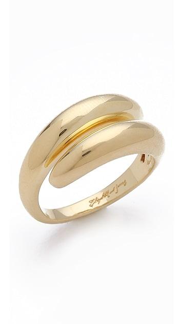 Elizabeth and James Meadowlark Coil Ring