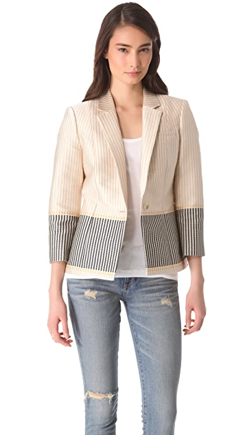 Elizabeth and James Hazel Textured Blazer