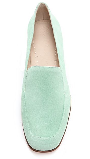 Elizabeth and James Cassi Suede Loafers