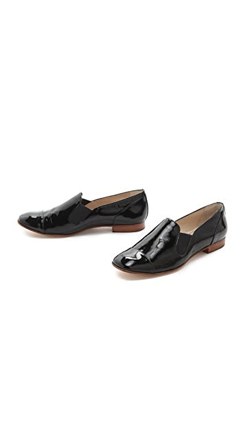 Elizabeth and James Court Patent Loafers