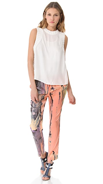 Elizabeth and James Brushstroke Gessler Pants