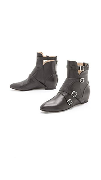Elizabeth and James Cosmo Strap Booties