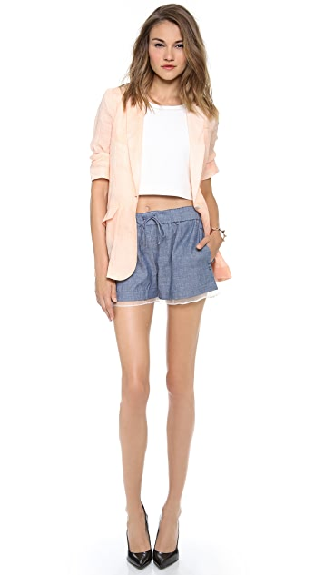 Elizabeth and James Jake Drawstring Shorts