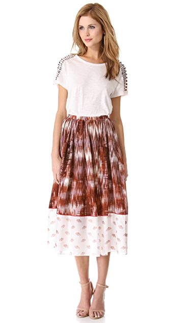 Elizabeth and James Grant Pattern Long Skirt