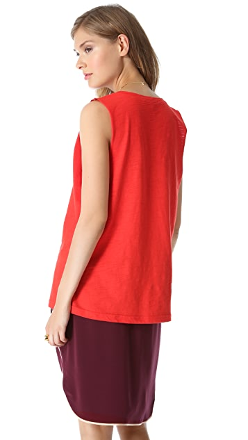 Elizabeth and James Theo Muscle Tee