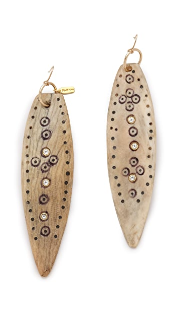 Elizabeth and James Shaman Drop Earrings
