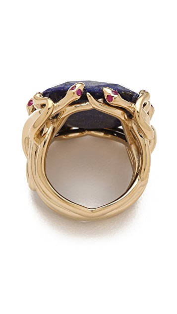 Elizabeth and James Meadowlark Large Snake Ring