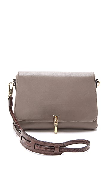 Elizabeth and James Leather Cross Body Bag