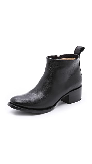 Elizabeth and James Ava Low Heel Ankle Booties