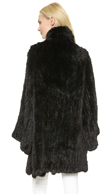 Elizabeth and James Kimono Elijah Fur Coat