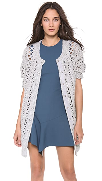 Elizabeth and James Crochet Cardigan
