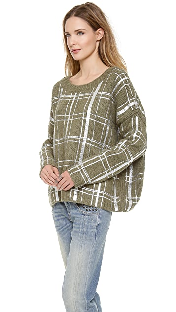 Elizabeth and James Plaid Pullover