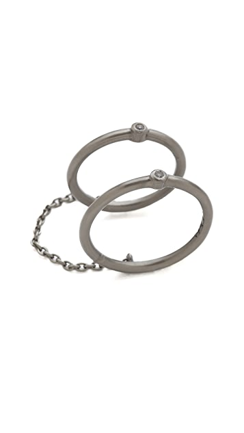 Elizabeth and James Berlin Single Band Knuckle Ring