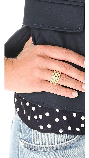 Elizabeth and James Berlin Engraved Rings