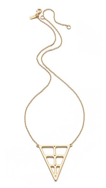 Elizabeth and James Berlin Window Necklace