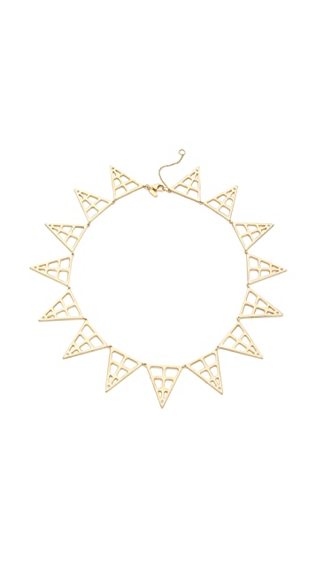 Elizabeth and James Berlin Pyramid Statement Necklace
