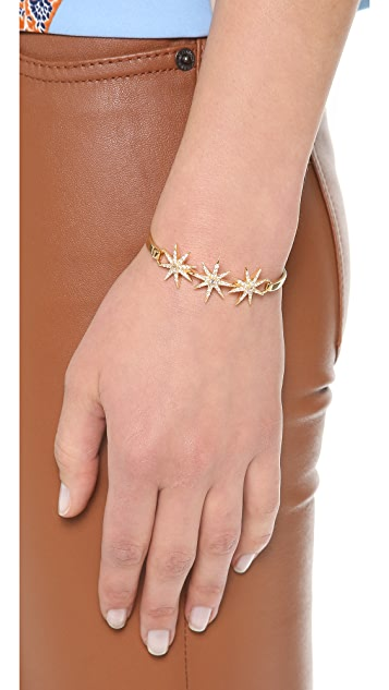 Elizabeth and James Compass Rose Bracelet