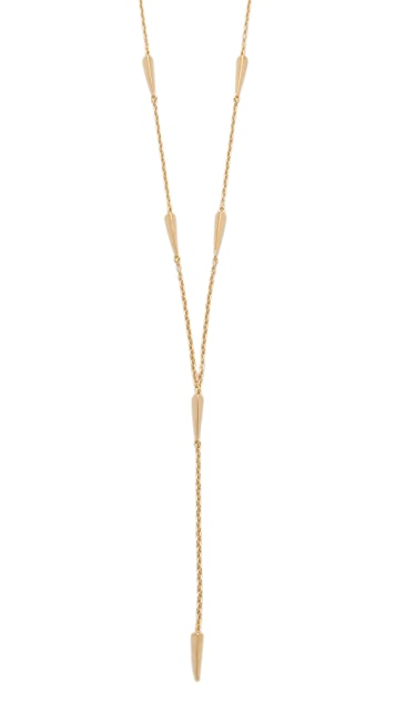Elizabeth and James Miro Lariat Necklace