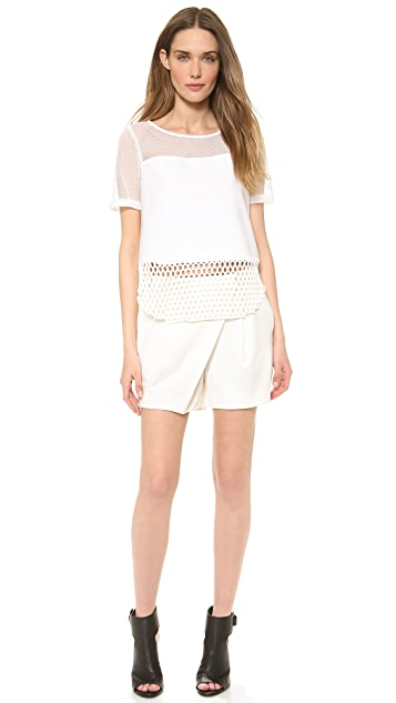 Elizabeth and James Rider Mesh Top