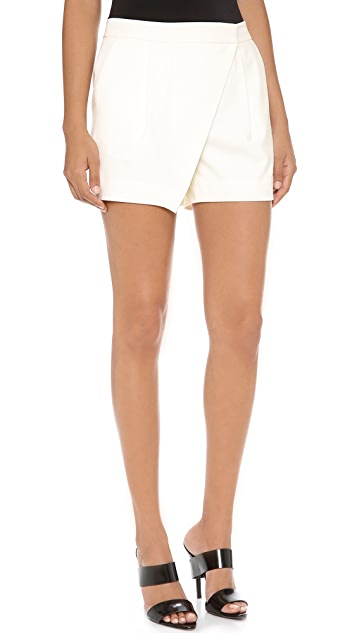 Elizabeth and James Walden Draped Shorts