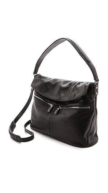 Elizabeth and James Cynnie Flap Hobo Bag
