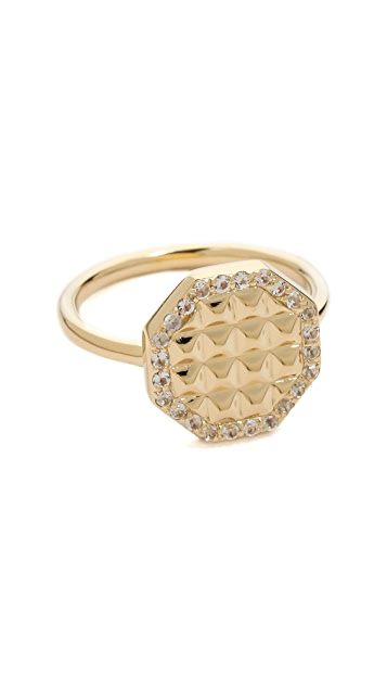 Elizabeth and James Divi Pave Ring
