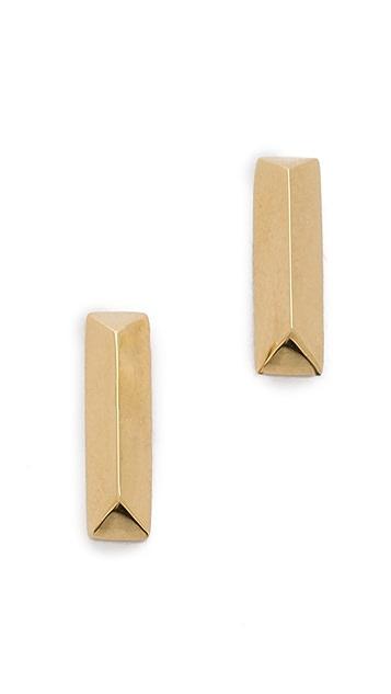 Elizabeth and James Mies Stud Earrings