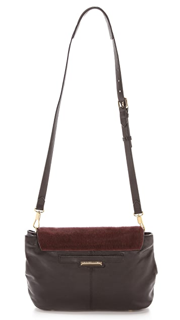 Elizabeth and James Medium Haircalf Cross Body Bag