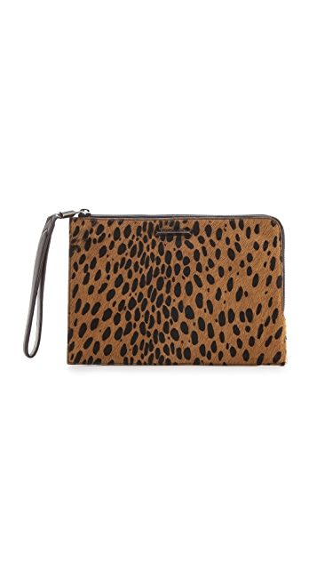 Elizabeth and James Pyramid Haircalf Pouch