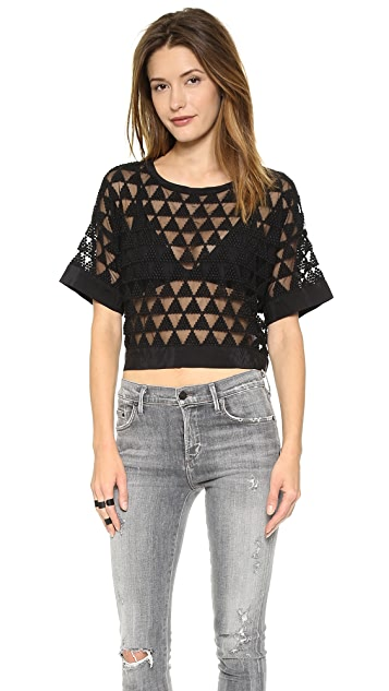 Elizabeth and James Gilroy Crop Top