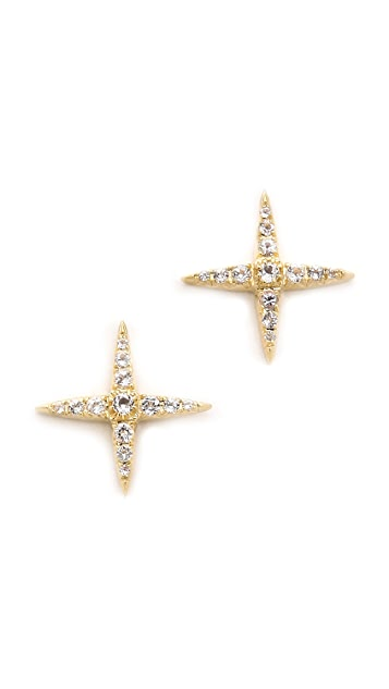 Elizabeth and James Kara Stud Earrings