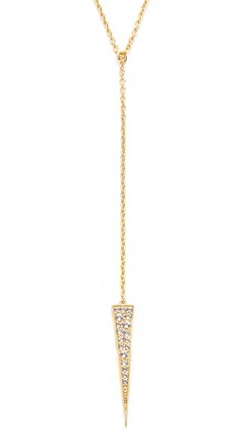 Elizabeth and James Nyos Lariat Necklace