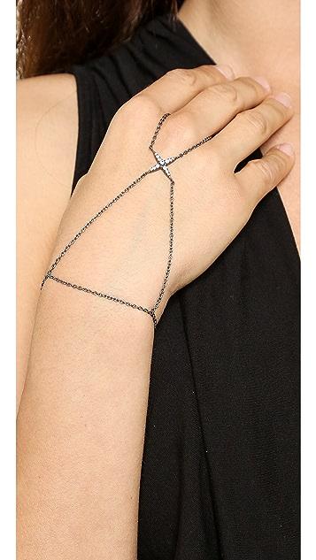 Elizabeth and James Kara Hand Bracelet