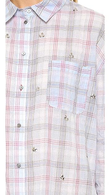 Elizabeth and James Embellished Carine Shirt