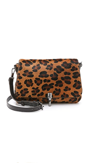 Elizabeth and James Mini Haircalf Cross Body Bag