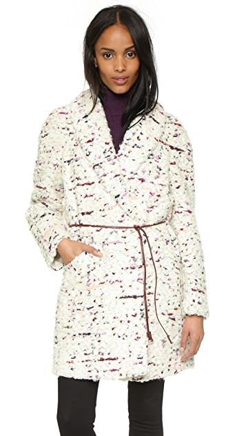 Elizabeth and James Bebe Coat