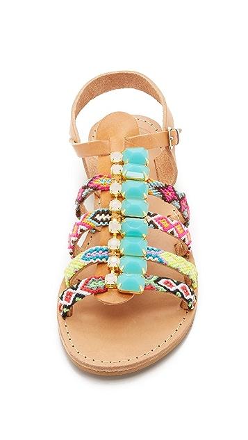 Elina Linardaki Candy Sandals
