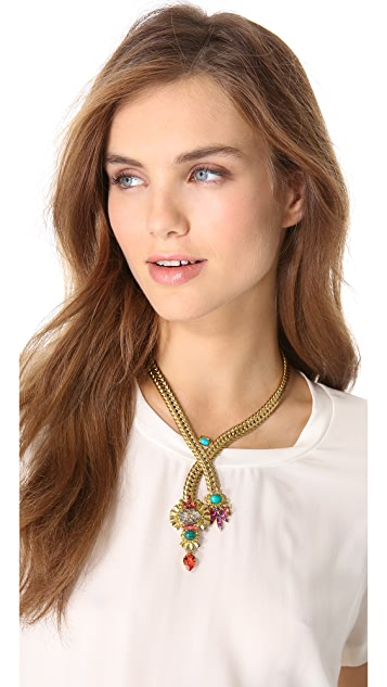 Elizabeth Cole Y Necklace