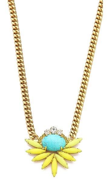 Elizabeth Cole Cluster Necklace