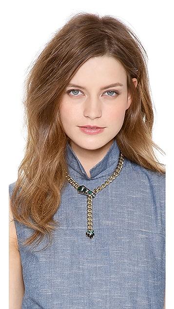 Elizabeth Cole Y Necklace