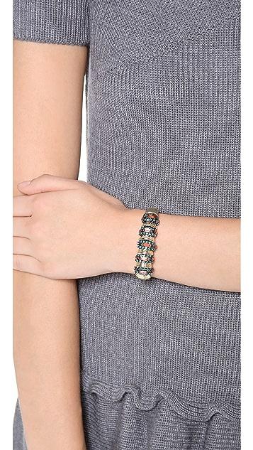 Elizabeth Cole Spine Cuff Bracelet