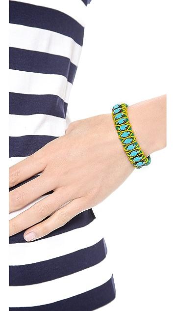 Elizabeth Cole Navette Cuff Bracelet