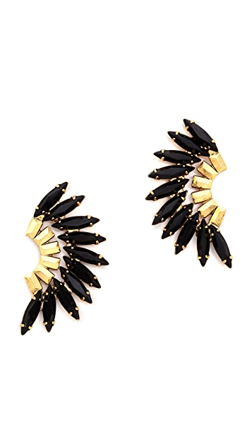 Elizabeth Cole Tiberia Earrings