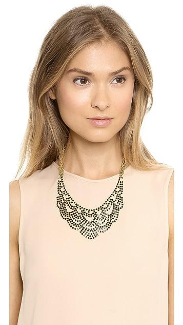 Elizabeth Cole Lace Necklace
