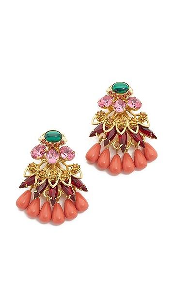 Elizabeth Cole Annabeth Statement Earrings