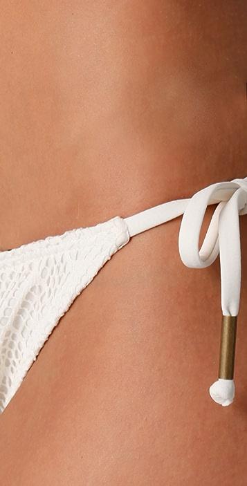 Ella Moss Rhapsody Tie Side Bikini Bottoms