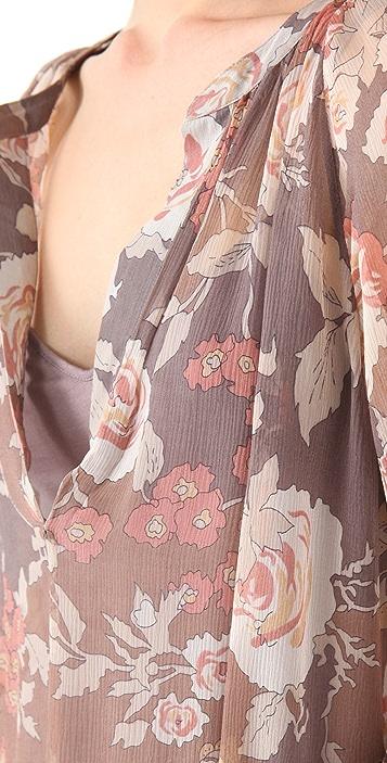 Ella Moss Rosa Flora Top