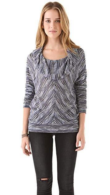 Ella Moss Willow Cowl Neck Top